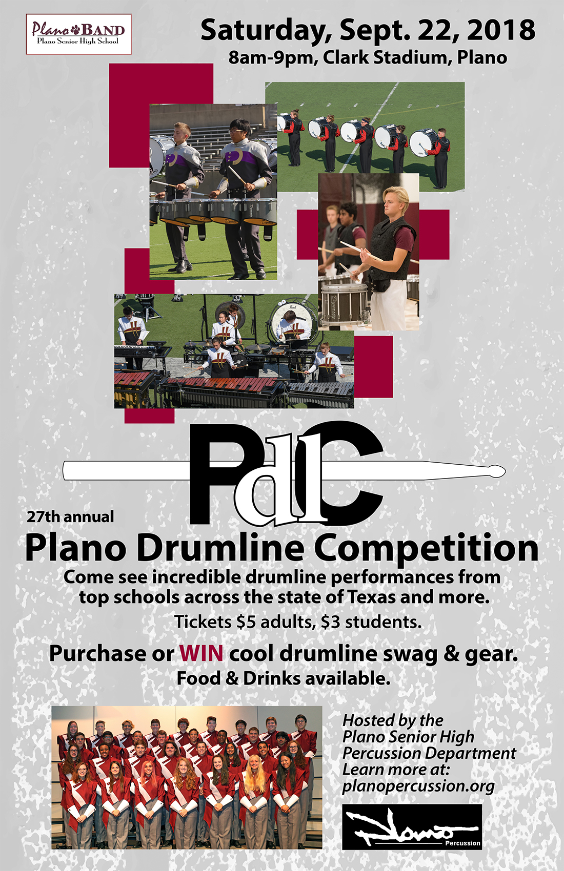Plano Drumline Competition